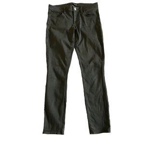 Express Dark Green Skinny Ankle Pants Size 6